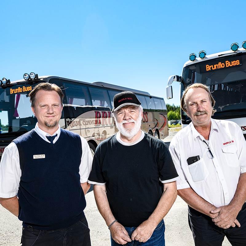 Brunflo buss - ett bussföretag i Jämtland